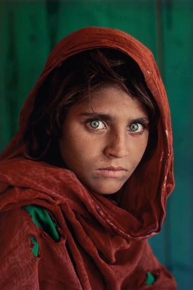Afghan girl Steve McCurry